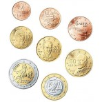 Grèce 2002 : Série complète euro neuve avec lettre