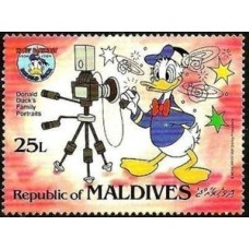 Walt Disney Donald - 25 TIMBRES DIFFERENTS