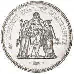 10 Francs Hercule en Argent