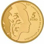 Semeuse 2008 - 5 euro Or