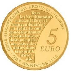 SEMEUSE 2009 - 5 EUROS OR