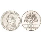 100 Francs Argent La Fayette