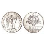 100 Francs Argent Droits de l'Homme