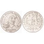 100 Francs Argent René Descartes
