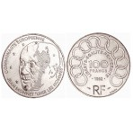 100 Francs Argent Jean Monnet