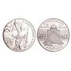 100 Francs Argent Louvre Liberté