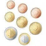 Pays-Bas 2009 : Série complète euro neuve