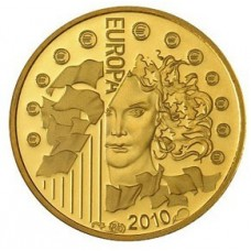 EUROPA 2010 - 5 EUROS OR