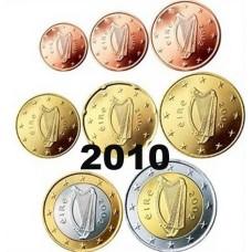 Irlande 2010 : série de 1 cent à 2 euros