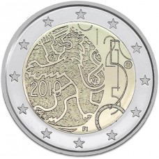 FINLANDE 2010 - 2 EUROS COMMEMORATIVE