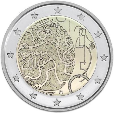 FINLANDE 2010 - 2 EUROS COMMEMORATIVE