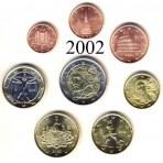 Italie 2002 : Série complète euro neuve