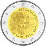 Portugal 2010 - 2 euro commémorative