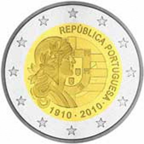 PORTUGAL 2010 - 2 EUROS COMMEMORATIVE