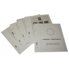 FRANCE 1958/2007 CONSEIL DE L'EUROPE - TIMBRES SERVICES - ALBUM PRE IMPRIMES