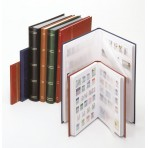Classeur timbres 48 Pages - Couleur rouge