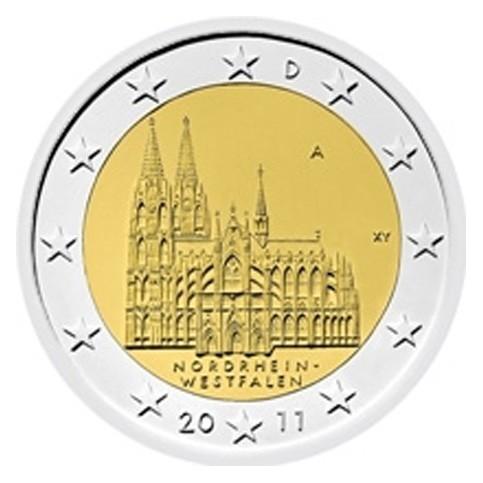 ALLEMAGNE 2011 - 2 EUROS COMMEMORATIVE