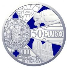 NOTRE DAME DE PARIS - 50 EUROS ARENT COLORISEE