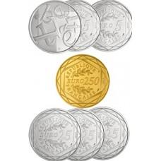 Valeurs de la République : La série complète euro Argent et Or