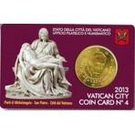 Vatican 2013 - Coincard Benoit XVI