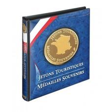 Album pour jetons touristiques et médailles
