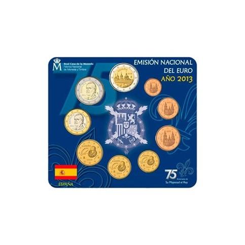 Espagne 2013 - Coffret euro BU