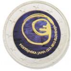 Slovénie 2013 - 2 euro commémorative en couleur - TYPE2