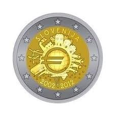 SLOVENIE 2012 - 10 ANS DE L'EURO