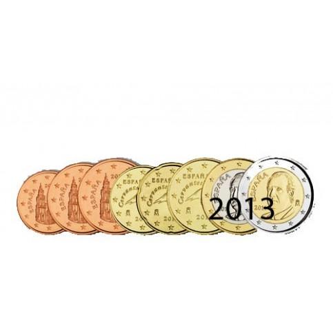 Espagne 2013 : Série complète euro neuve