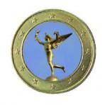 Symbole de la République 2013 - 1 euro domé en couleur Génie de la Bastille