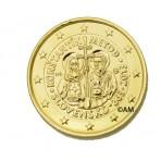 Slovaquie 2013 - 2 euro commémorative dorée à l'or fin 24 carats