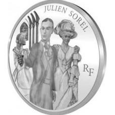 Julien Sorel - 10 euro Argent