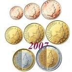 Luxembourg 2007 : Série complète euro neuve
