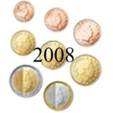 Luxembourg 2008: serie de 1 cent a 2 euros