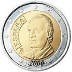 Espagne 2 euro 2000