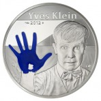 Yves Klein, Elue Monnaie de L'année - 10 euro Argent