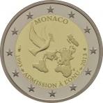 Monaco 2013 - 2 euro commémorative ONU