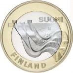 Finlande 2013 - 5 euro Carélie Série 'Architecture'