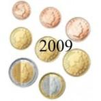 Luxembourg 2009 : Série complète euro neuve