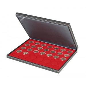 Coffret de rangement pour 2 sous capsules - Rangement pieces euros ...