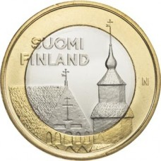 Finlande 2013 - 5 euro Tavastia Série 'Architecture'