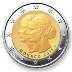 Monaco 2011 - 2 euro commémorative