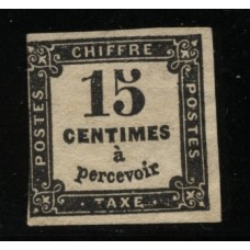 Timbre Taxe n°3 luxe neuf avec gomme