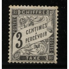 Timbre Taxe n°12 luxe neuf avec gomme