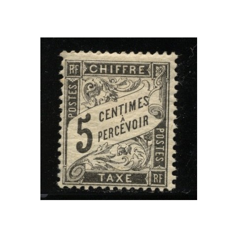 Timbre Taxe n°14 luxe neuf avec gomme