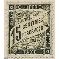 Timbre Taxe n°16 luxe neuf avec gomme