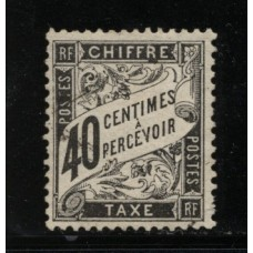 Timbre Taxe n°19 luxe neuf avec gomme