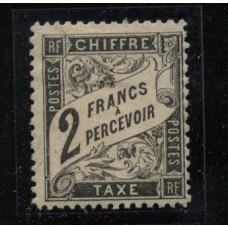 Timbre Taxe n°23 luxe neuf avec gomme