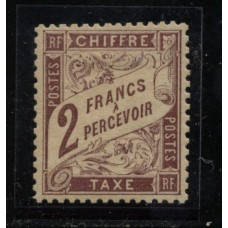 Timbre Taxe n°26 luxe neuf avec gomme