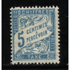 Timbre Taxe n°28 luxe neuf avec gomme